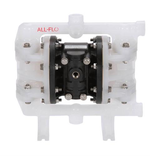 All-Flo A Series 1/2 in. FNPT Poly Air Diaphragm Pumps, 17 GPM w/Santoprene Diaphragm, Valve & Ball, EPDM O-Ring, Polypropylene Seat