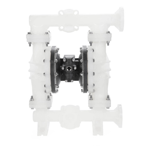All-Flo A Series 2 in. Flange Poly Air Diaphragm Pumps, 160 GPM w/PTFE Diaphragm, Valve & Ball, EPDM O-Ring, Polypropylene Seat