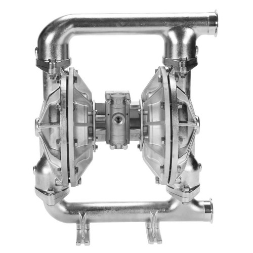 All-Flo F Series 2 in. Tri-Clamp All-Pur FDA Pumps, 190 GPM w/PTFE Diaphragm, Valve, Ball & O-Ring, SS Seats