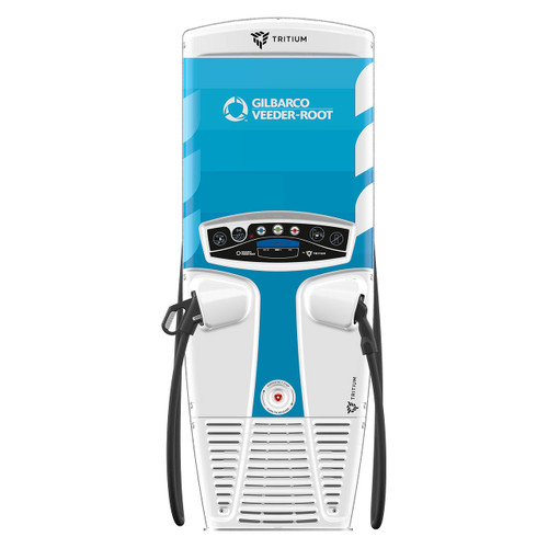 Gilbarco Tritium RT50 DCFC, Fast Charge Dual Electric Vehicle Charging Stations
