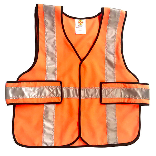 343 Fire V12-EZ Economy FR 5-Point-Breakaway Vests, Orange