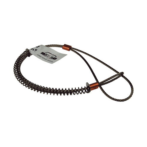 dixon king 1  4 u0026quot  stainless steel safety cable  style wsr