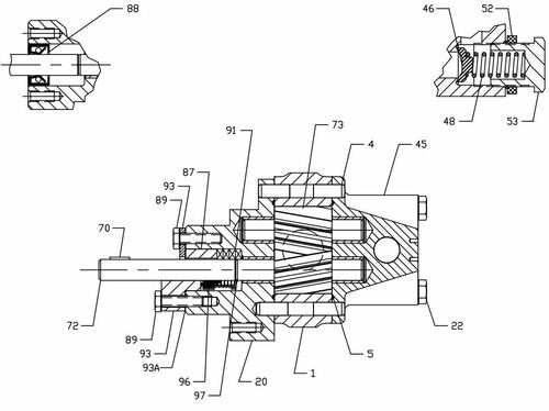 roper pumps a series pump replacement parts