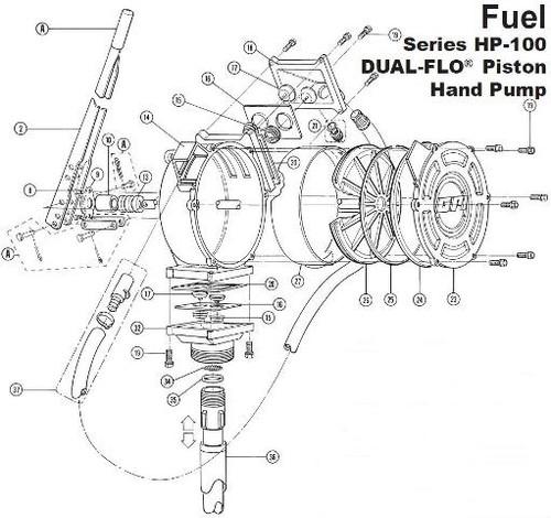 gpi hp-100 handle - 2