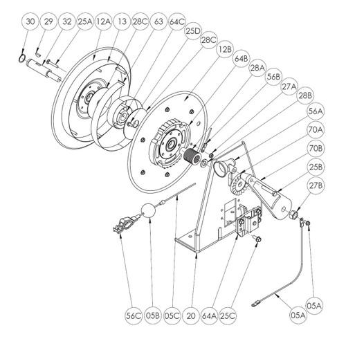 hgr50  u0026 hgr100 grounding reel parts