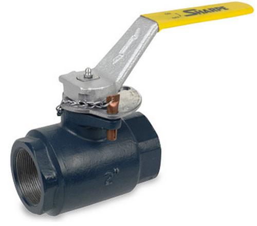 Diesel Exhaust Fluid >> Sharpe Carbon Steel 5000 WOG Locking Ball Valve - Threaded ...