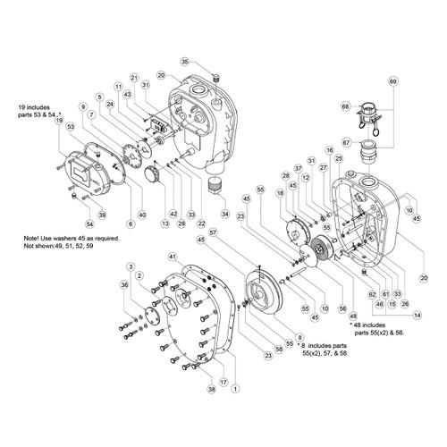 Varec 2500 Tank Gauge Replacement Parts