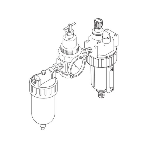 graco replacement air filter  regulator  lubricator kit