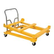 Vestil IBC Tilting Cart, 41 3/16 in. w x 53 3/8 in. L x 35 13/16 in. H, 4400 lb. Cap.