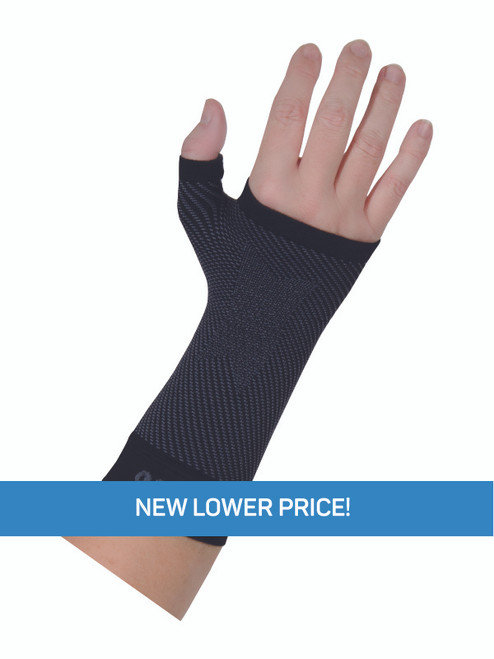 OrthoSleeve Wrist Compression Sleeve Black