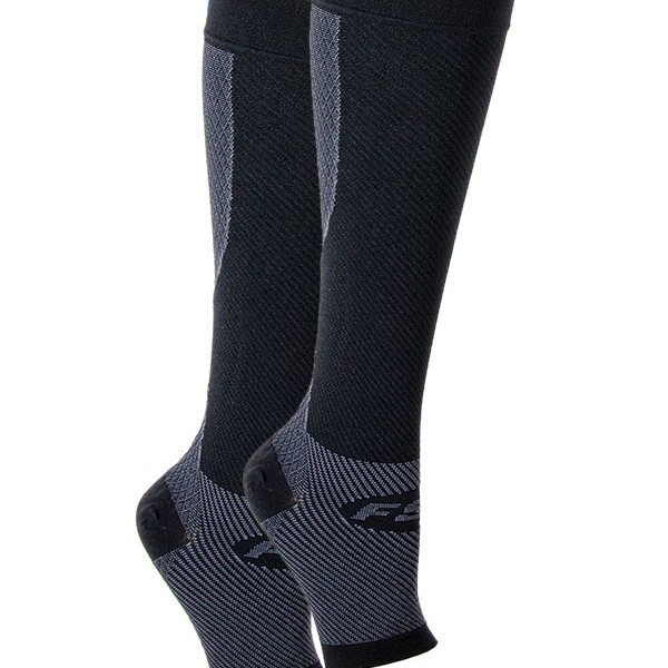 FS6+ Compression Leg Sleeves Black