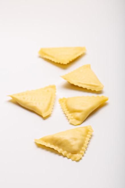 Triangoli al Baccalà
