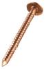 Copper Slating Ring Shank Nails