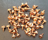 """#6-18 3/8"""" Copper Plated 410 Stainless Steel Zip Screw"""