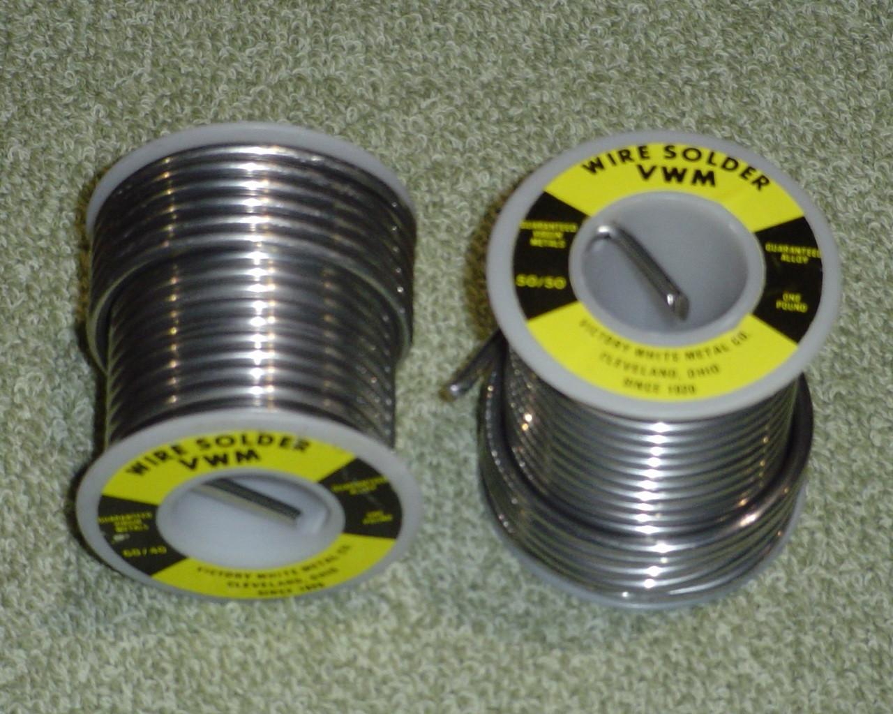 50/50 Wire Solder 1 lb Spool Free Shipping 50 LB Box