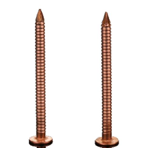 Copper Slating Ring Shank Nail