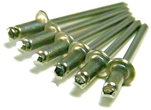 Stainless Steel Rivet-Stainless Steel Mandrel #42 Blind Domed Button Head Open End
