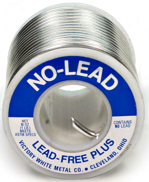 "Lead Free Plus Wire Solder 1 lb Spool 1/8"" .125 Dia"