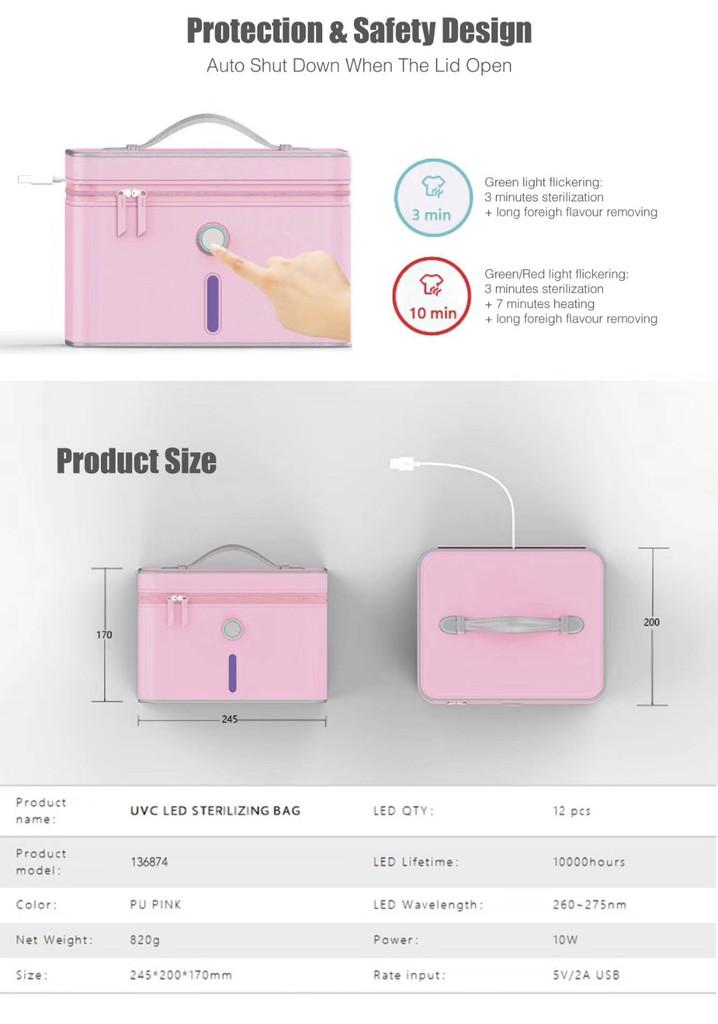 UVC LED Sterlizer Bag