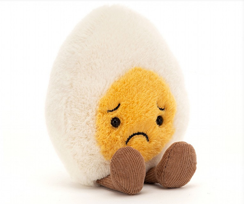 jellycat-Sorry Boiled Egg (H6''*W3'')