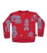 Nununu all over tribal dancers sweatshirt/ RED