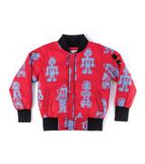 nununu all over tribal dancers bomber jacket