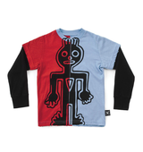 Nununu half & half tribal dancer t-shirt