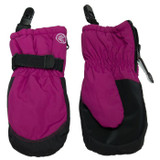 Calikids Mitten with Clips Red