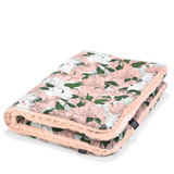 Medium Blanket/ Lady Peony - Powder Pink