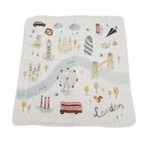 Lollipop Muslim Quilt Blanket- London