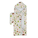 Lollipop Hooded Towel Set- Forest Friends