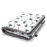La Millou Large Blanket- BOHO Royal Arrows- Grey