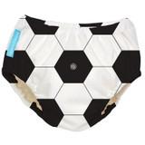 2-in-1 Swim Diaper/ Training Pants - Soccer (2 sizes)
