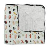 Muslin Quilt Blanket - Sushi
