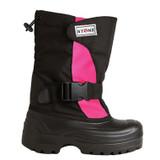 Stonz Winter Bootz - Pink/Black Trek