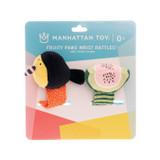 Manhattan Toys Fruity Paws Wrist Tattle+Foot Finder