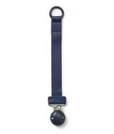 Elodie Details Pacifier Clip Wood/ Juniper Blue