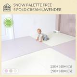 Creamhaus Snow Palette Free 5 Fold Cream Lavender