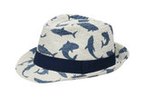 FlapJackKids Kids Fedora - Shark/ Medium 2-4y