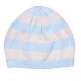 Earth Baby Knit Bamboo stripe beanie blue stripe