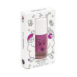 Nailmatic- Water-based nail polish for kids- Sheepy - Clear Raspberry Glitter