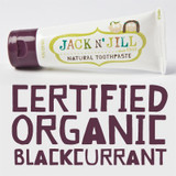 JACK N JILL Natural toothpaste organic blackcurrant