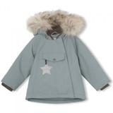 Wang Jacket with Fur/ Trooper Blue