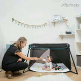 Babymoov® Naos Travel Bed in Black