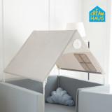 CreamHaus Free Bumper Mat Tent/ CocoBrown