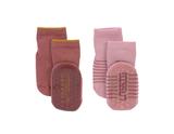 Lassig - 4kids - Anti-Slip Socks - Rosewood/Rose