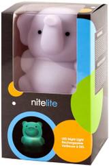 Nite Lite-Q Bow Rechargeable Elephant