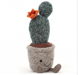 jellycat-Silly Succulent Prickly Pear Cactus (H9''*W3')'
