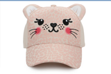 Kids 3D Cap - Leopard