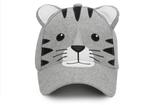 Kids 3D Cap - Tiger